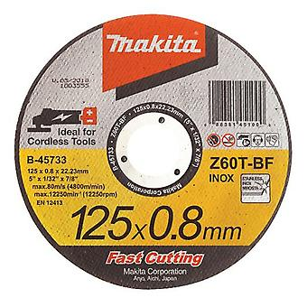 Makita Replacement metal blade stainless 125x0,8mm