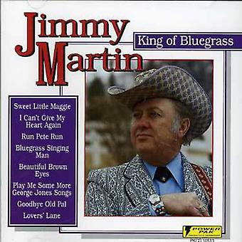 Jimmy Martin - kongen af Bluegrass [CD] USA import