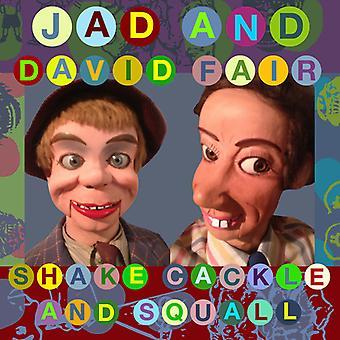 Jad Fair & David - ryste kagle & Squall [Vinyl] USA import
