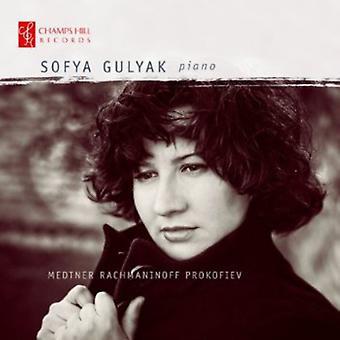 Medtner/Rachmaninov/Prokofjev - Sofya Gulyak spiller Medtner, Rachmaninov, Prokofiev [CD] USA import