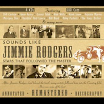 Sounds Like Jimmie Rodgers - Sounds Like Jimmie Rodgers [CD] USA import