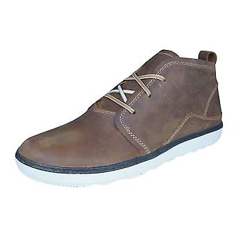 Merrell Around Town Chukka Womens Leather Boots - Brown
