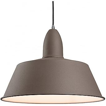 Firstlight Modern Concrete Dome Shade Ceiling Light Pendant