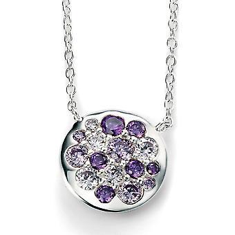 925 Silver Zirconium Trend Necklace