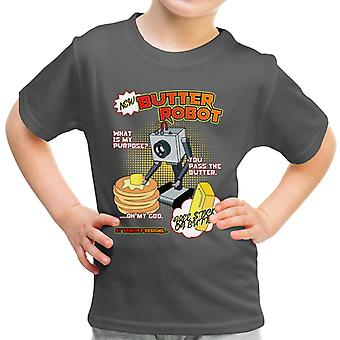 Rick And Morty Pass The Butter Robot Kid's T-Shirt
