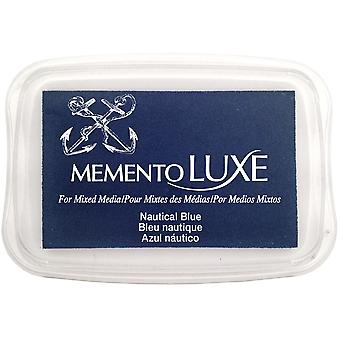 Memento Luxe Ink Pad-Nautical Blue ML-607