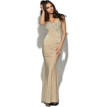 Diamante Glam Maxi Dress