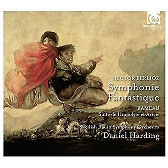 Berlioz / Harding, Daniel / Rameau - Symphonie Fantastique / importación de los E.e.u.u. de la Suite De Hippolyte Et [CD]