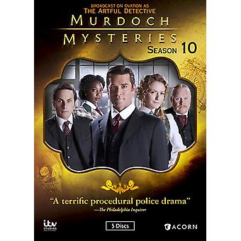 Murdoch Mysteries: Season 10 [DVD] USA import