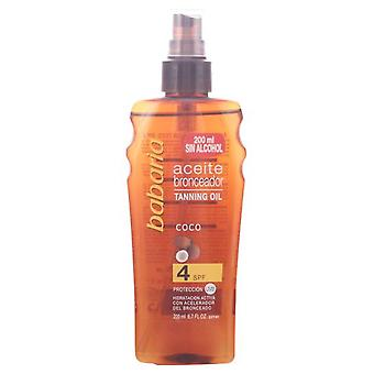 Babaria Sun Oil Spray Coco F-4