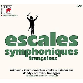 Escales Symphoniques - FN Siecle De Musique Francaise [CD] USA import