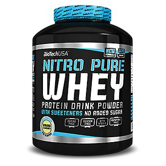 BiotechUSA Nitro Pure Whey Capuccino Flavor Candy-908 gr (Sport , Proteine)