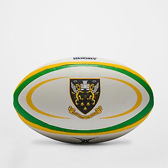 Gilbert Northampton Saints Replikat-Rugby-Ball