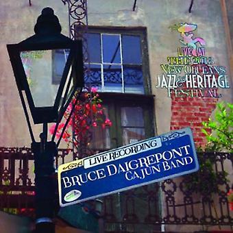 Bruce Daigrepont - Live på Jazzfest 2013 [CD] USA import