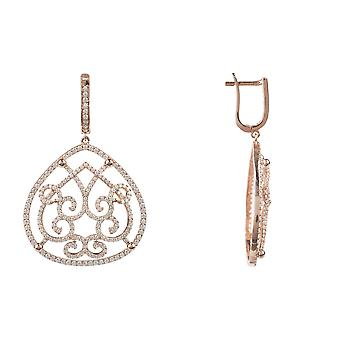Maria rosegold Statement Earring