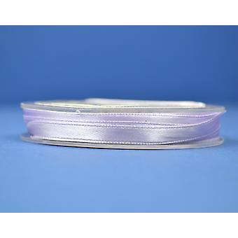 7mm Polyester Satin Craft Ribbon - 10m Reel - Lilac | Ribbons & Bows for Crafts