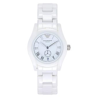 Armani Watches Ar1405 White Ceramica Ladies Watch