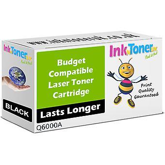 Toner noir Q6000A 124 a compatible pour HP Color LaserJet CM1017 MFP