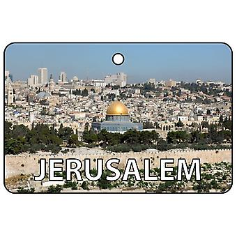 Jerusalem Car Air Freshener
