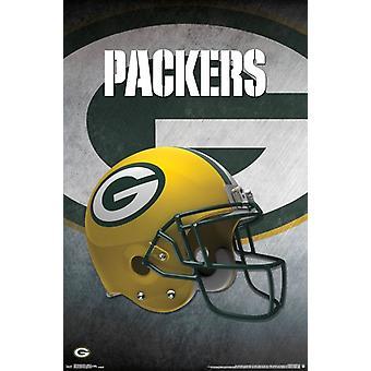 Green Bay Packers - Helmet 16 Poster Print