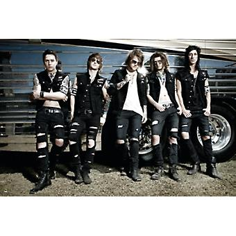 Asking Alexandria Group Poster Poster Print