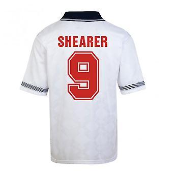 Poäng Rita England World Cup 1990 hem skjorta (Shearer 9)