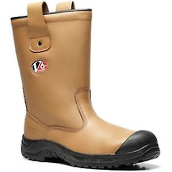 V12 V6816 Polar Tan Fur Lined Rigger Boot EN20345:2011-S1P Ci Size 10