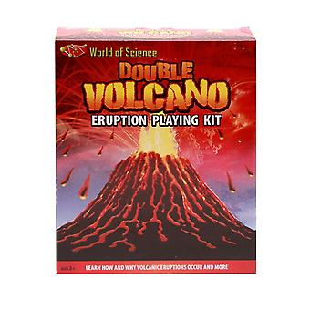 Double Volcano Eruption Play Kit