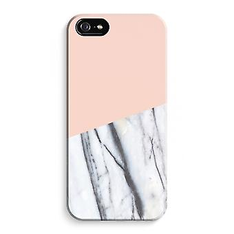 iPhone 5C Full Print Case - A touch of peach