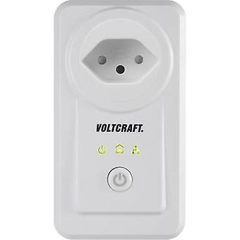 Energy consumption meter VOLTCRAFT PLC3000 CH Powerline, app-enabled, Alarm function, Data export mode, GUI, built-in ch