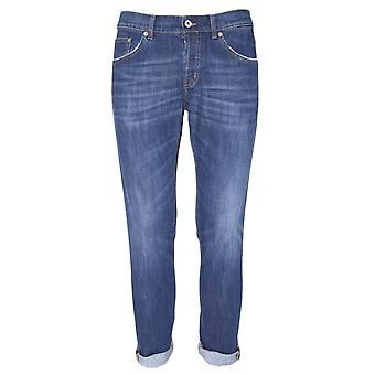 Dondup mens UP168DS107UO97T Blau bomull jeans
