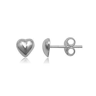 Hjertet 925 sølv øredobber