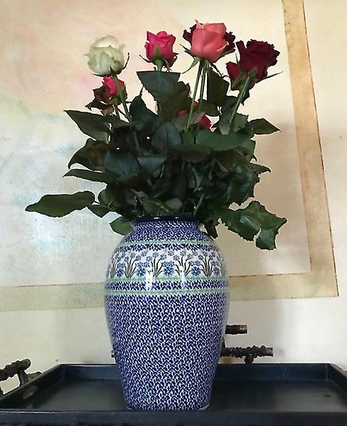 Vase de sol, hauteur 32 cm, ne m'oubliez pas, BSN J-4231