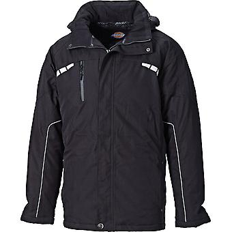 Dickies Mens Atherton Waterproof Breathable Workwear Jacket Black