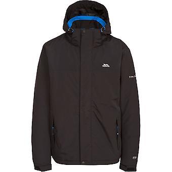 Trespass Mens Donelly impermeabile traspirante pioggia cappotto giacca imbottita