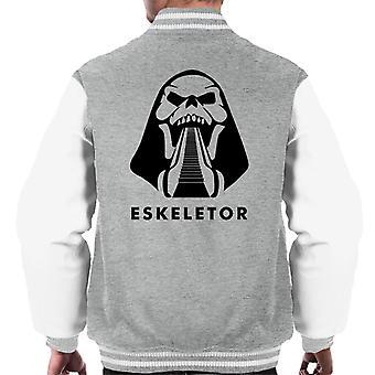 Eskeletor Skeletor roltrap meesters van het universum mannen Varsity Jacket
