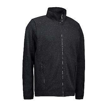 ID Mens ZipNMix Melange Fleece