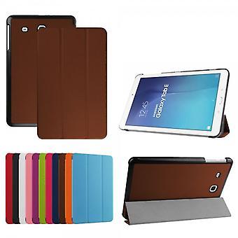 Premium Smart cover Brown for Samsung Galaxy tab E 9.6 T560