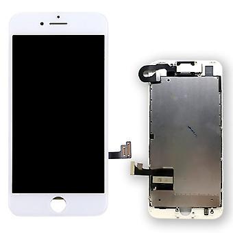 Unidade completa de tudo-em-um visor LCD de painel de toque para Apple iPhone 7 4.7 polegadas branco pré-montadas