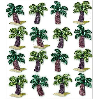 Jolee's Boutique Dimensional Stickers-Palm Trees