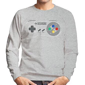 Super Nintendo Entertainment System Gaming Controller Herren Sweatshirt