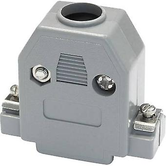 D-SUB housing Number of pins: 15 Plastic 180 ° Grey econ connect PH15 1 pc(s)
