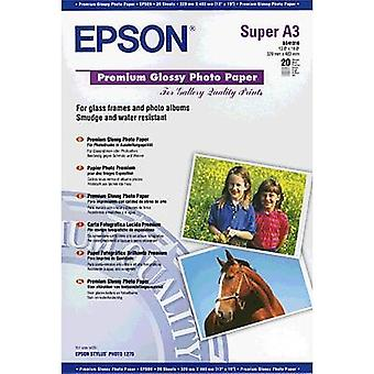 Epson Premium Glossy Photo Paper C13S041316 Photo paper A3+ 255 gm² 20 sheet High-lustre