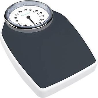 Analog bathroom scales Medisana PSD Weight range=150 kg Black/wh
