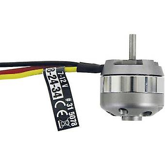 Model aircraft brushless motor 2824-34 7-12 V ROXXY kV (RPM per volt): 1100