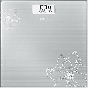 Beurer GS 10 Digital bathroom scales Weight range=180 kg Stainless steel