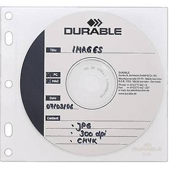 Durable CD box 2 CDs/DVDs/Blu-rays Polypropylene