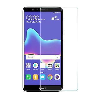Huawei Y9 2018 Displayschutzfolie 9H Verbundglas Panzer Schutz Glas Tempered Glas