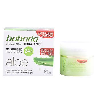 Babaria Aloe Vera Crema Hidratante 24 Horas 50 Ml For Women