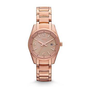 Fossil Ladies Designer Watch Rose Gold Jeanne BQ1077